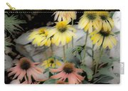 Pastel Cone Flowers Carry-all Pouch