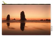 Pastel Evening On The Oregon Coast Carry-all Pouch