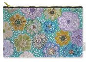 Pastel Floral Garden Carry-all Pouch