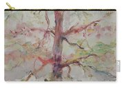 Pastel Forest Carry-all Pouch by Nadine Rippelmeyer