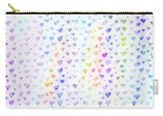 Pastel Hearts Carry-all Pouch