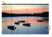 Pastel Lake And Boats Simphony Carry-all Pouch