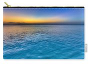 Pastel Ocean Carry-all Pouch by Chad Dutson