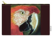 Pastel Of Red On The Head  Carry-all Pouch