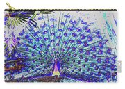 Pastel Peacock Carry-all Pouch