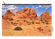 Pastel Petrified Sand Dunes Carry-all Pouch