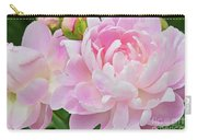 Pastel Pink Peonies Carry-all Pouch
