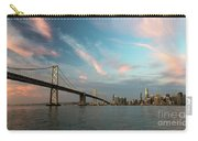Pastel San Francisco Sunrise Carry-all Pouch