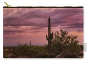 Pastel Sonoran Skies At Sunset  Carry-all Pouch
