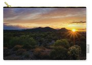 Pastel Sonoran Skies  Carry-all Pouch