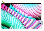 Pastel Spiral Staircase Fractal Carry-all Pouch