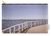 Pastel Tone Sea Pier Landscape Carry-all Pouch