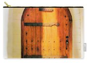 Pastel Wooden Door Carry-all Pouch
