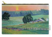 Pastoral Sunset Carry-all Pouch