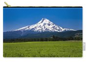 Pasture View Of Mt. Hood Carry-all Pouch