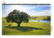 Pasturing Cows Carry-all Pouch by Carlos Caetano