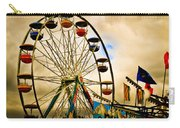 Patch Of Blue Carry-all Pouch by Bob Orsillo