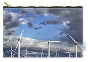 Patch Of Blue Palm Springs Carry-all Pouch