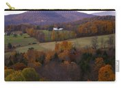 Patch Worked Mountains In Vermont Carry-all Pouch