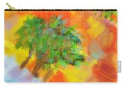Patchwork Beach Town Carry-all Pouch