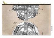 patent art Edison 1888 Phonograph Carry-all Pouch
