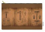 Patent  Razor Art Barry Toles Johansan Carry-all Pouch