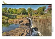 Paterson Water Falls Black And White Carry-all Pouch