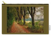 Path Along The Horses Meadow On The Farm Lovedayvale L A S Carry-all Pouch
