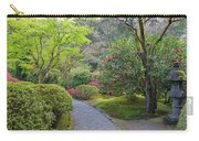 Path At Japanese Garden Carry-all Pouch