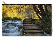 Path In Plitvice Carry-all Pouch
