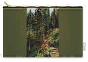 path in the woods 55h34 Ivan Ivanovich Shishkin Carry-all Pouch