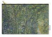 Path In The Woods Paris, May 1887 - July 1887 Vincent Van Gogh 1853  1890 Carry-all Pouch