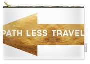 Path Less Traveled-  Art By Linda Woods Carry-all Pouch