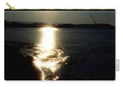 Path Of Sunlight On The Sea Carry-all Pouch