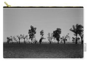 Path Of Trees On Farm Carry-all Pouch