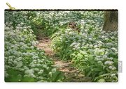 Path Through A Deciduous Forest, Wild Garlic Carry-all Pouch