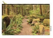 Path Through Mossy Forest Carry-all Pouch