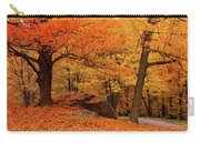 Path Through New England Fall Foliage Carry-all Pouch