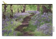 Path Through The Bluebells Carry-all Pouch