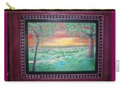 Path To The Pedernales River With Painted Frame Carry-all Pouch