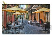 Patio Cafe In Nola Carry-all Pouch