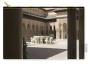 Patio De Los Leones Nasrid Palaces Alhambra Granada Carry-all Pouch