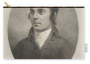 Paton Thompson , Robert Burns, 1759 - 1796. Poet Carry-all Pouch