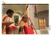 Patriarch Fouad Twal At Christmas Mass Carry-all Pouch