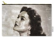 Patricia Medina, Vintage Actress Carry-all Pouch