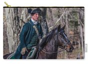 Patriot On Horse At Tower Park Battle Carry-all Pouch