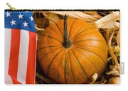 Patriotic American Pumpkin Carry-all Pouch