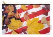 Patriotic Autumn Colors Carry-all Pouch