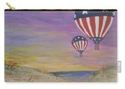 Patriotic Balloons Carry-all Pouch