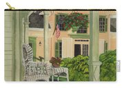 Patriotic Country Porch Carry-all Pouch